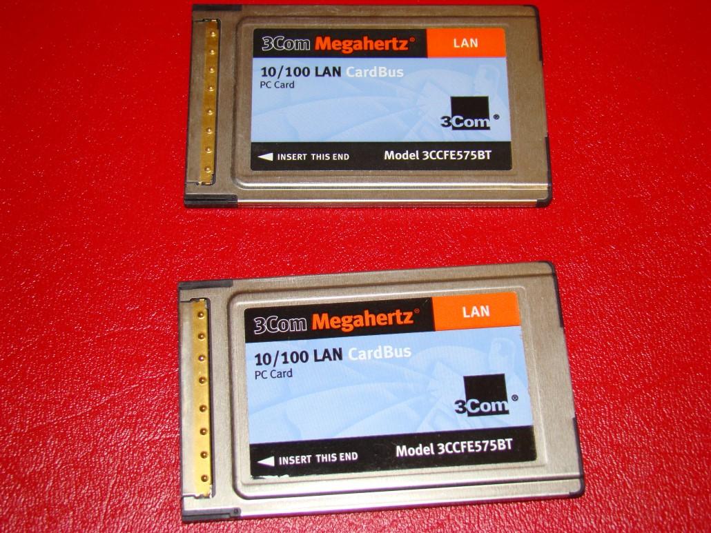NO cable 3COM MEGAHERTZ LAN PC CARD PCMCIA #3CCFE574BT
