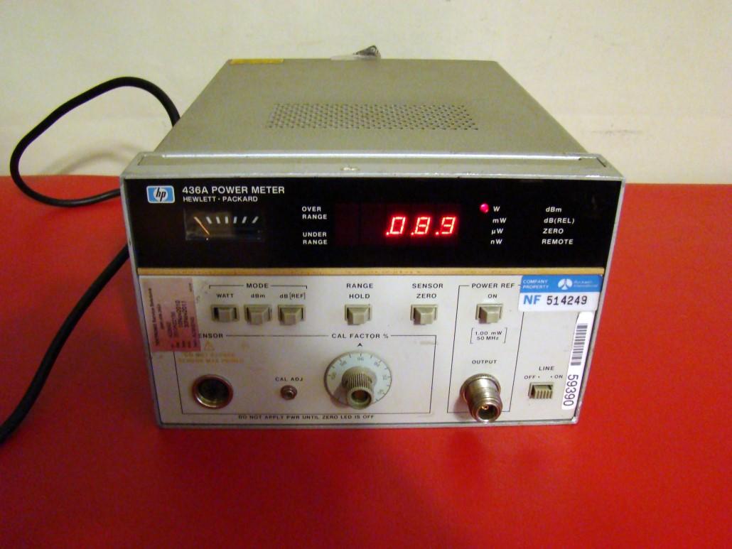 Hp Power Meter : One hp hewlett packard a power meter actual pictures