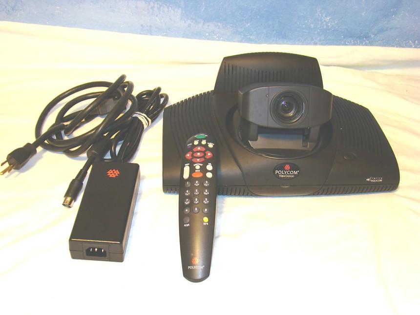 polycom viewstation pvs 14xx ntsc camera remote power supply rh ebay ph Polycom Vvx 300 Display Screen Polycom Carry Case