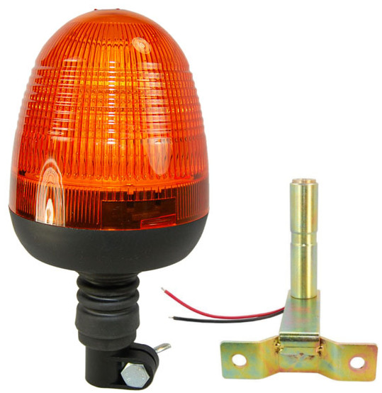 Tractor Amber Safety Lights : Hqrp led amber emergency flash strobe warning light beacon
