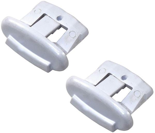 PK42 WD12X10304 2 PAK for GE Dishwasher End Cap Rack Clip PS2370502 AP4484666