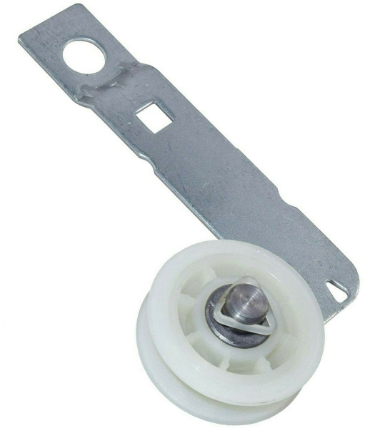 2-Pack Dryer Idler Pulley w// Bracket Assembly fits Whirlpool W10837240 W10118756