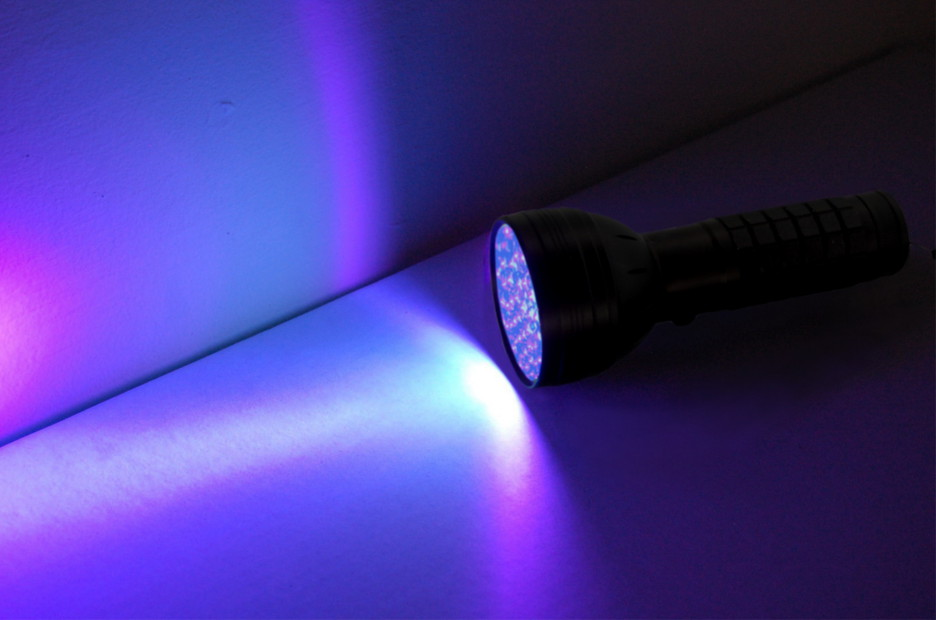 Hqrp Professional 76 Led Ultra Violet Blacklight Uv