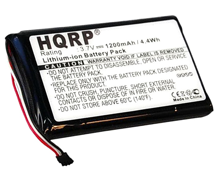Rechargeable battery for Garmin Nuvi 2597 LMT 1200mAh Li-Ion