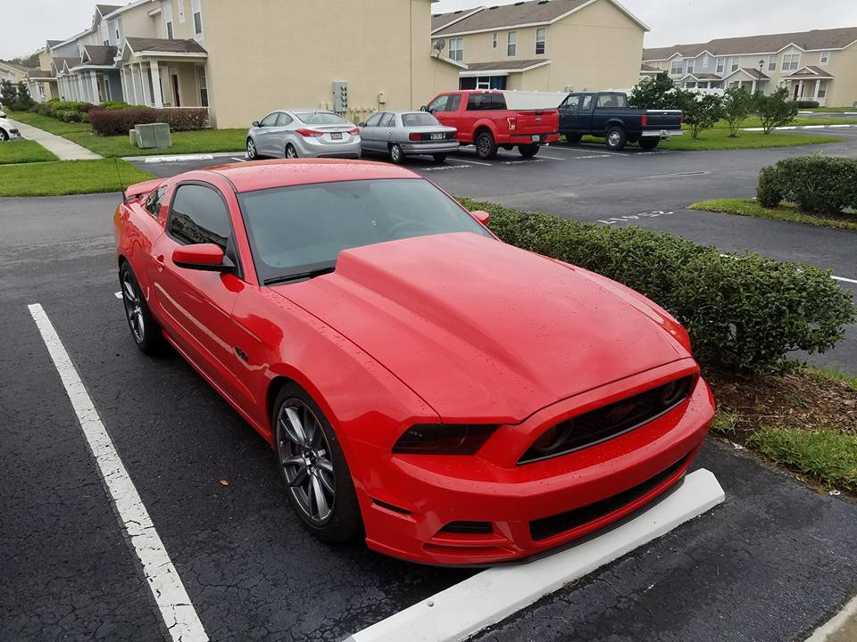 14 Mustang Cowl Hood >> 13 14 Mustang 4 Cowl Hood