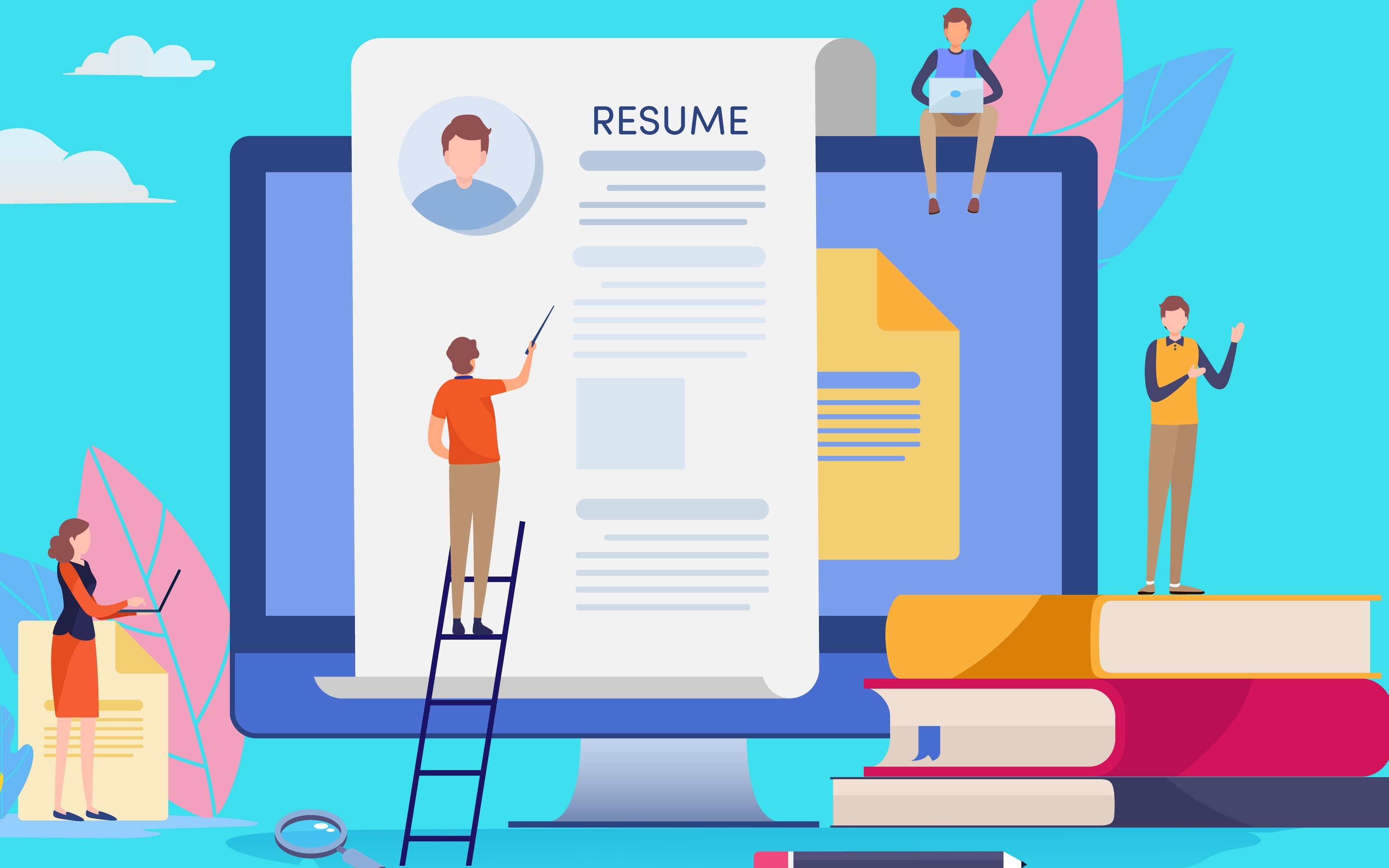 You best career starts with a Professional Resume