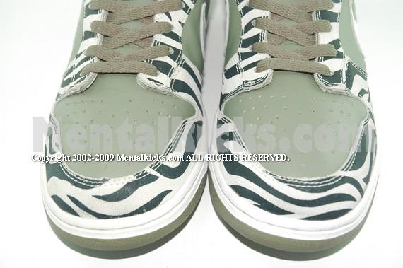 Mentalkicks.com - Nike dunk low zebra daktari