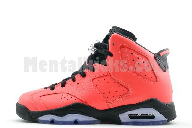 Cheap Nike Air Jordan 6 GS - Infrared 23 #384665-623