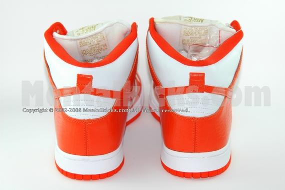Nike Dunk High Pro Sb Øverste Oransje I75ia