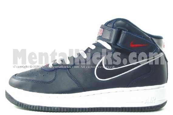 nike air force one mid usa