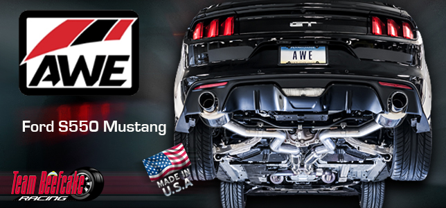 AWE Exhaust S550 Mustang