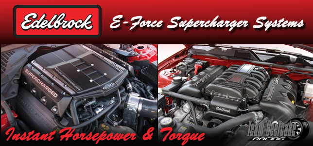 Edelbrock E-Force Superchargers