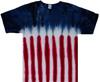 American flag tie dye t shirt