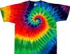 12 color rainbow tie dye t-shirt