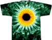 Sunflower tie dye shirts