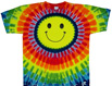 smiley face tie dye shirts