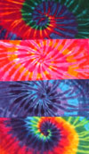 Oversized Tie Dye Towels