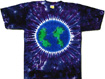 planet earth tie dye shirts