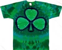 Green Shamrock Irish Clothes