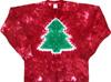 Christmas tree tie dye t-shirt