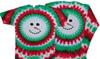 Winter snowman tie dye t-shirt