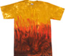 rasta spiral tie dye shirts