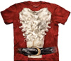 Santa Claus tie dye t-shirt