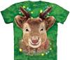 Christmas holiday tie dye t shirts
