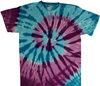 Island spiral tie dye shirts
