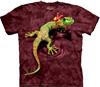 Gecko peace out tie dye t-shirt