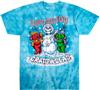 Grateful Dead hippie holidays tie dye t-shirt