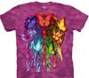 butterfly dreamcatchers tie dye t shirt
