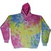 rainbow sherbet tie dye hoodie