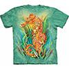 seahorse tie dye shirt
