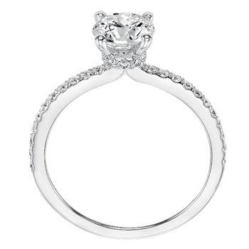 SYBIL ArtCarved Diamond Engagement Ring - 31-V544-E