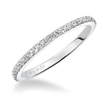 SYBIL ArtCarved Diamond Wedding Band - 31-V544-L