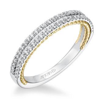EMMELINE Diamond Band by ArtCarved - 31-V585-L