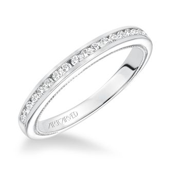 POSEY ArtCarved Diamond Wedding Band - 31-V586-L