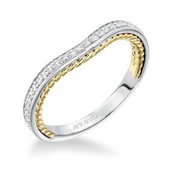 SEANA ArtCarved Diamond Wedding Band - 31-V587-L