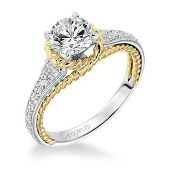SEANNA ArtCarved Engagement Ring - 31-V587E