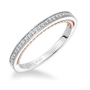 MARLOW ArtCarved Diamond Wedding Band - 31-V591-L