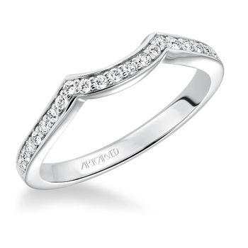 PRESLEYArtCarved Diamond Wedding Band - 31-V593-L