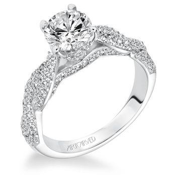 MACKENZIE ArtCarved Diamond Engagement Ring - 31-V595-E
