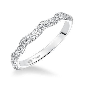 MACKENZIE Artcarved Diamond Engagement Ring - 31-V595-L