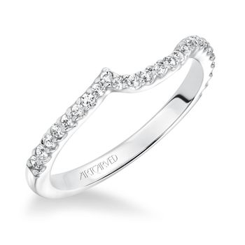 SABRINA ArtCarved Matching Diamond Wedding Band - 31-V599-L