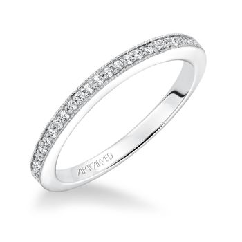 KAYEE ArtCarved Diamond Wedding Band - 31-V604L