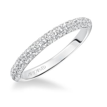 BLAIR Artcarved Diamond Wedding Band - 31-V606-L