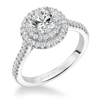 MELINDA Artcarved Diamond Engagement Ring