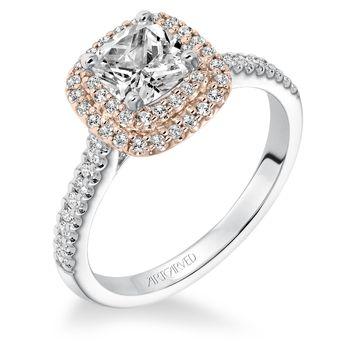 AVRIL Artcarved Diamond Engagement Ring - 31-V608-E
