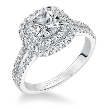 DOROTHY Artcarved Diamond Engagement Ring - 31-V610-E